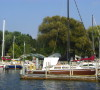 There are many marinas on White Lake