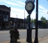 Clock in Downtown Whitehall