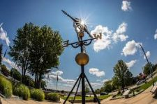 World's Largest Weathervane and Ellenwood Park - Montague, MI